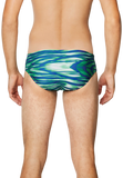Speedo Pro LT Wave Wall Blue/Green Brief