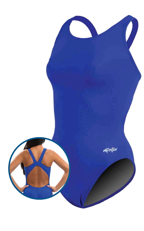Dolfin XtraSleek Solid HP Back - Royal