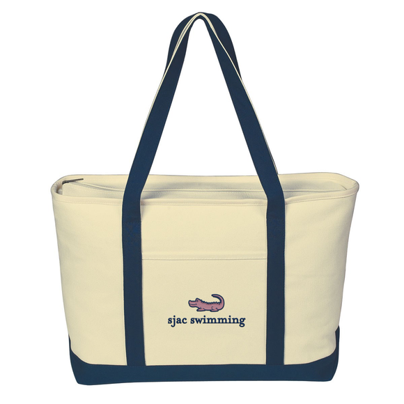 SJAC Heavy Cotton Canvas Boat Tote
