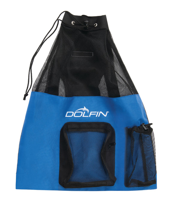 Dolfin Backpack - Royal Mesh Drawstring