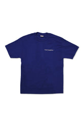 SCOREBOARD TEE ROYAL BLUE / WHITE PRINT