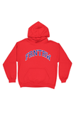 Athletic Hood Red