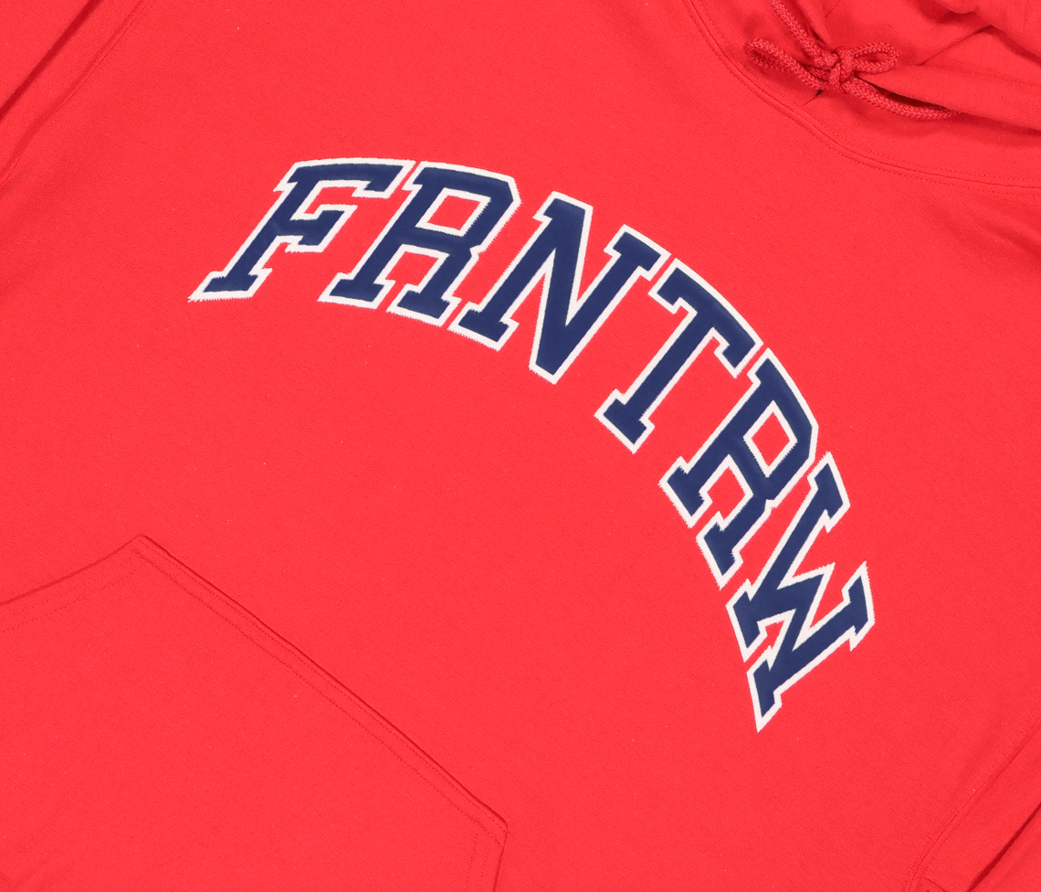 Athletic Hood Red/Navy