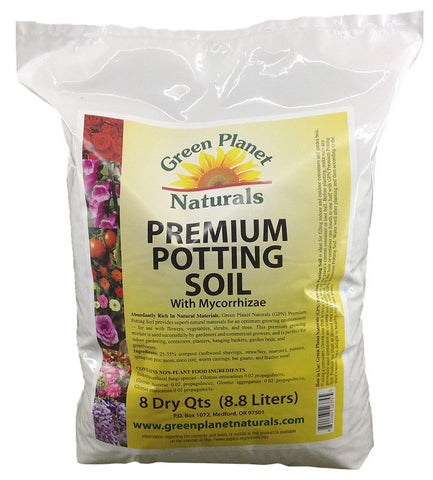 All-in-One Premium Potting Soil with Mycorrhizae - Free Shipping!