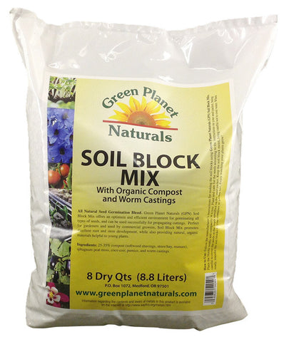 Soil Block Mix with Compost & Worm Castings - Free Shipping!