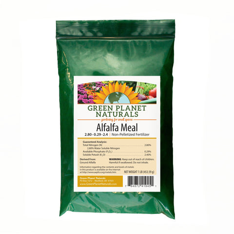 Alfalfa Meal 1-lb Single Ingredient Fertilizers - Free Shipping!