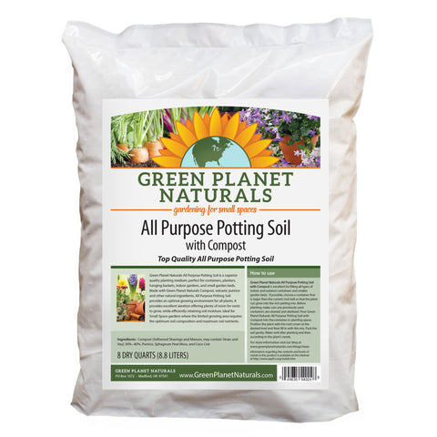 All Purpose Potting Soil with Compost - Free Shipping!