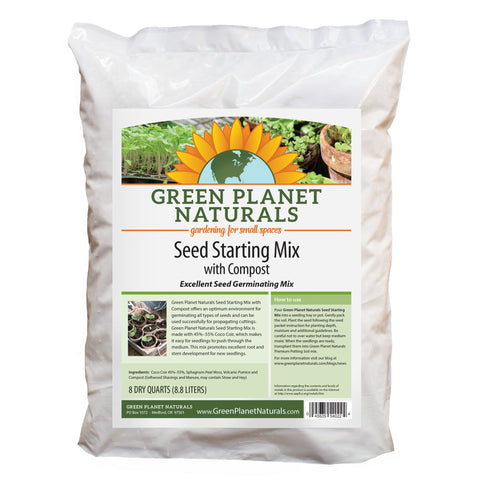Seed Starting Mix with Compost - Free Shipping!