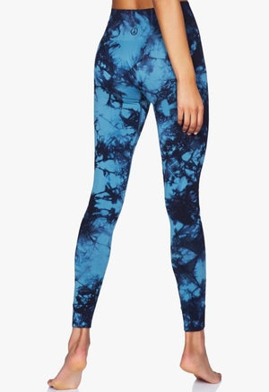 Illusion Leggings - Aura Blue
