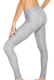 Steel Linen Ankle Legging