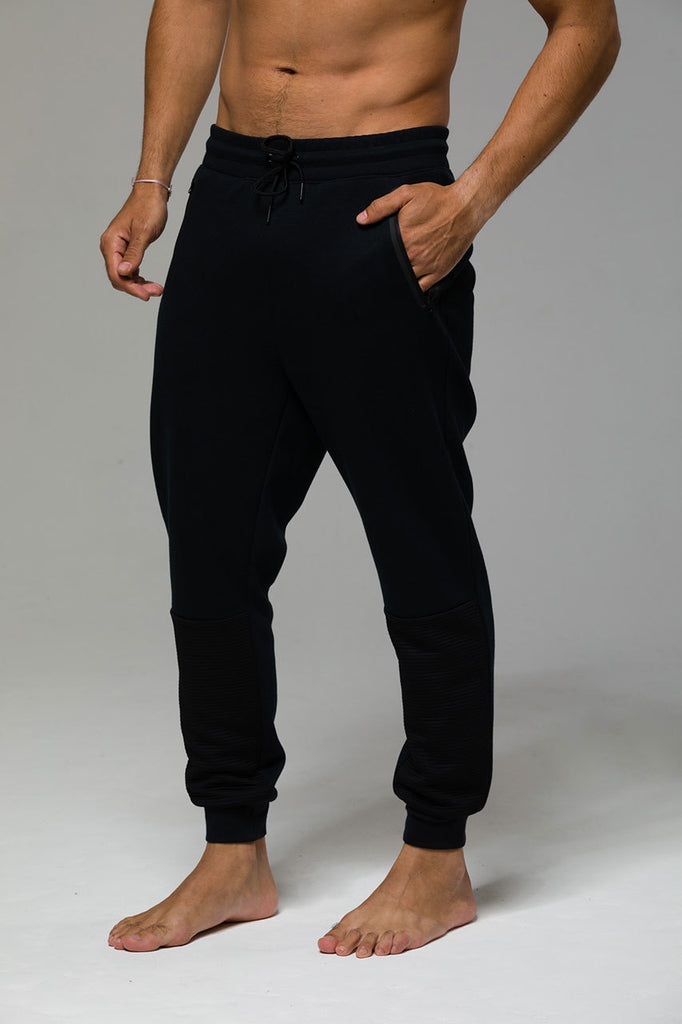 957a678404746 Onzie Mens Street Jogger Black - Spirit People Australia