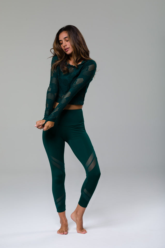 Sporty 7/8 Legging - Alpine