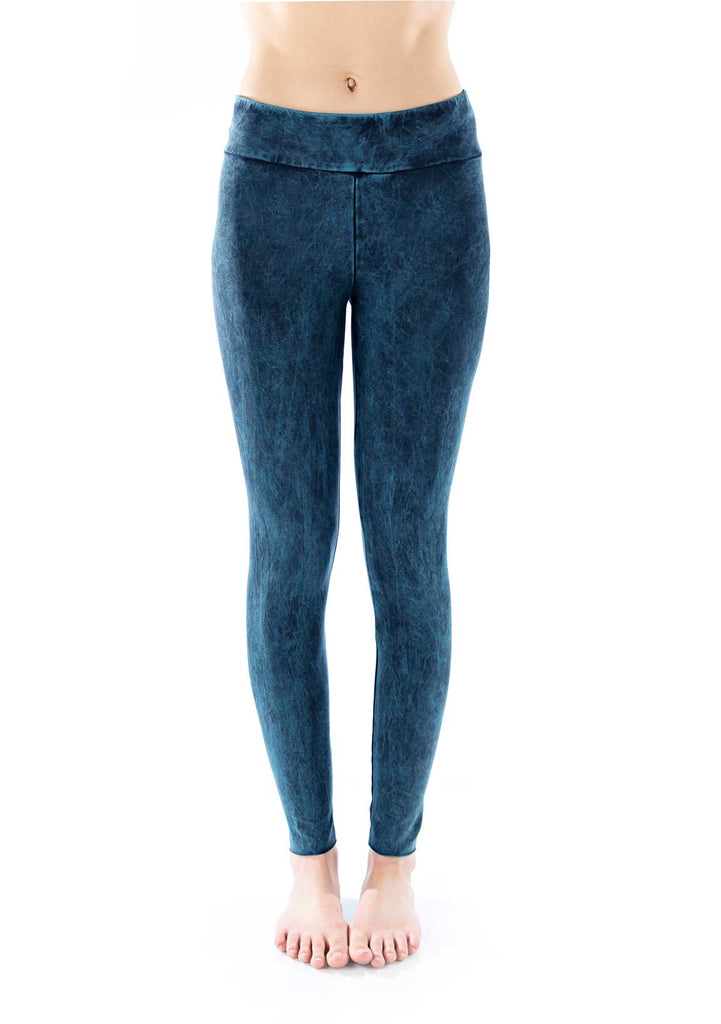 Organic Basic Legging - celestial wash