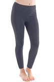 Organic Basic Capri and Legging - Charcoal