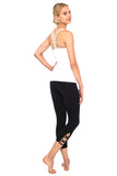 Black Barre 7/8 Legging