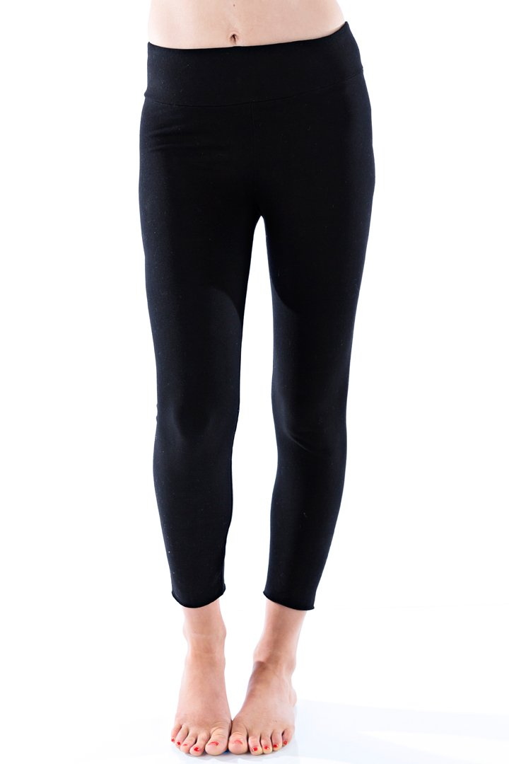 Organic Basic Capri - Black