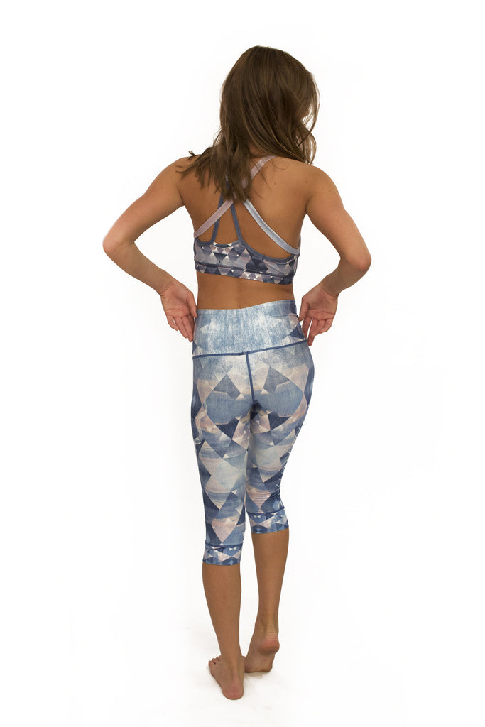 Diamond Denim Capri