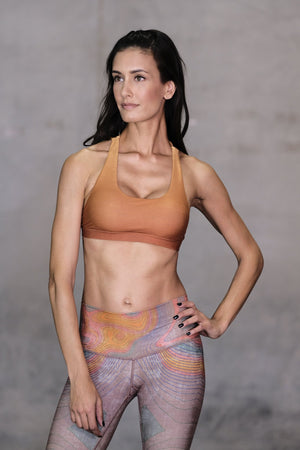 Desert Sun Dreamcatcher Sports Bra