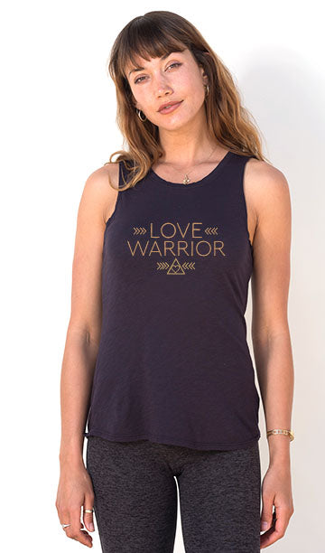 'LOVE WARRIOR' - PERFECT FIT TANK