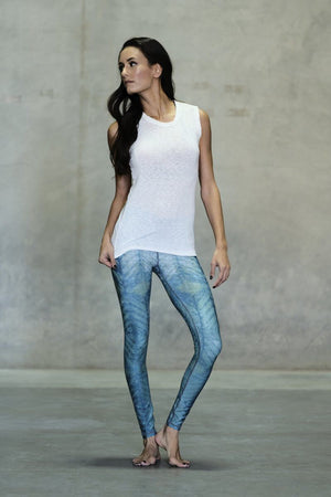 Sea Glass Ankle Legging