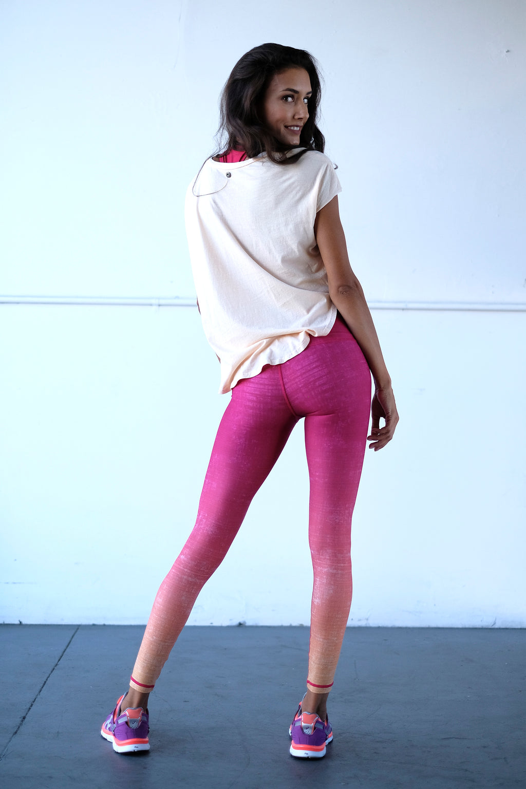 Tequila Sunrise Ankle Legging