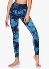 Moonchild Yoga wear Illusion leggings aura blue