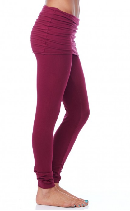 ORGANIC FRENCH TERRY FOLDOVER LEGGINGS