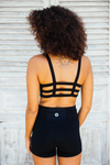 Boxy Crop - Black