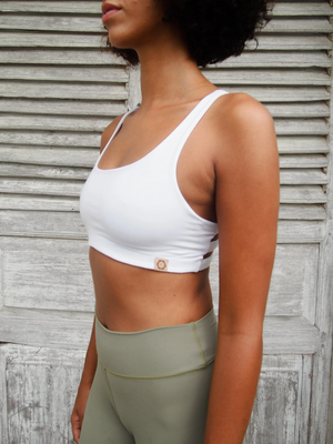 Boxy Crop - White