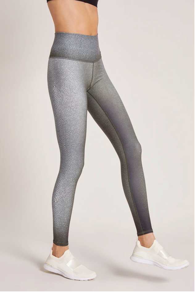 Shagreen High waisted Leggings - Fatigue