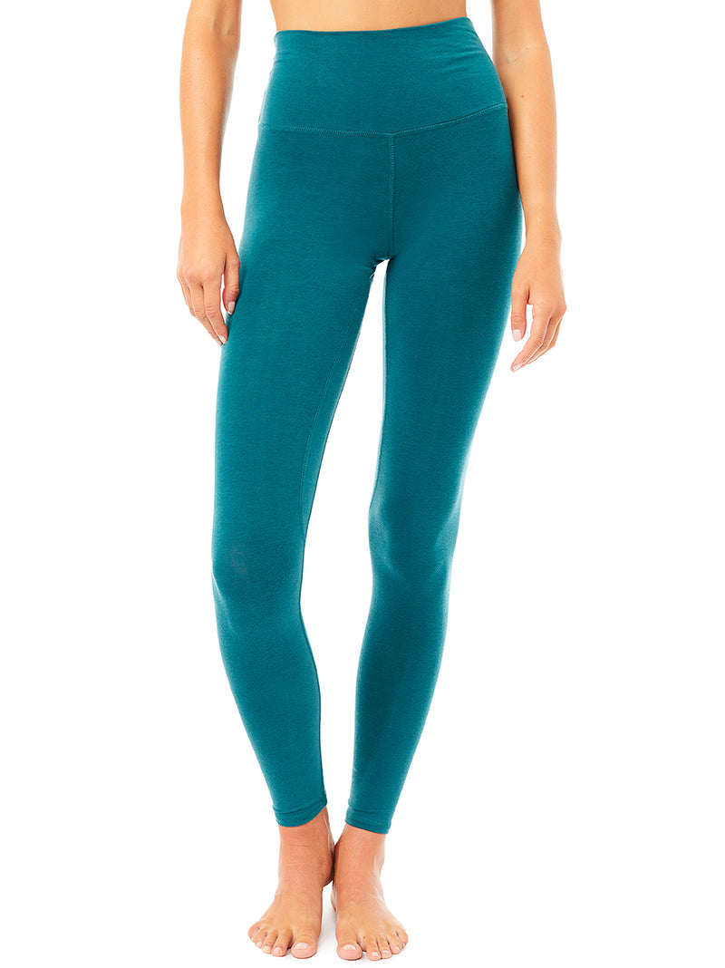 Basic Legging - Tropical Green