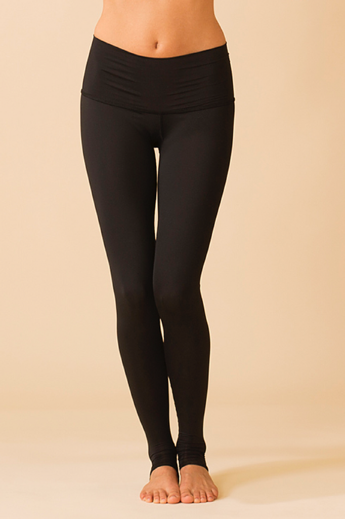 Solid Black Legging