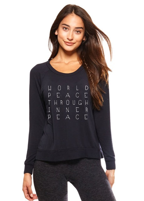 World Peace Ultra Soft Raglan