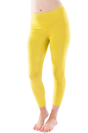 Organic Basic Capri and Legging - Buttercup