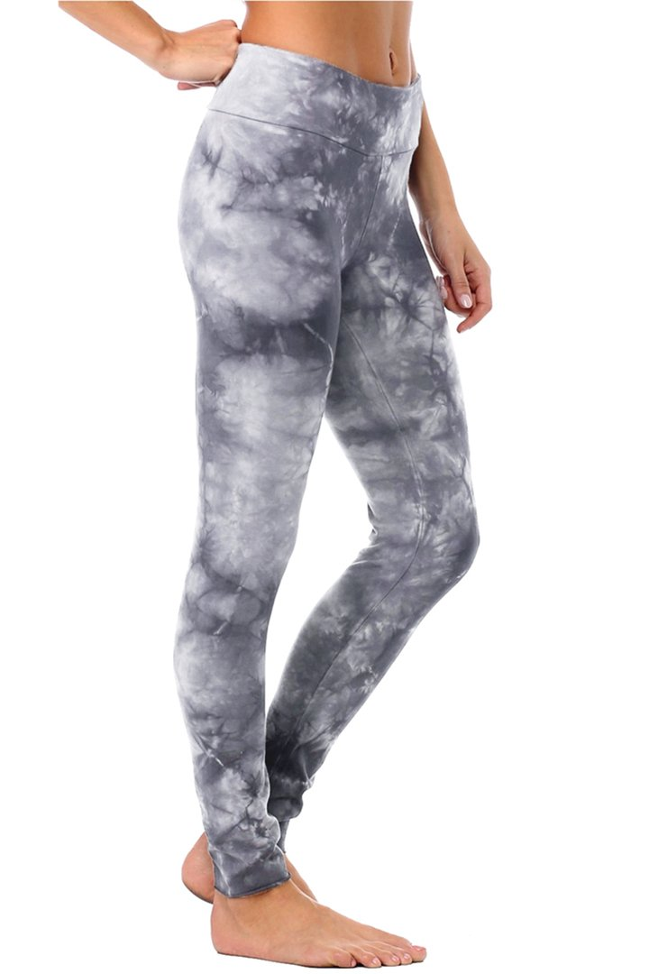 Organic Basic Legging - Cool Grey Crystal Wash