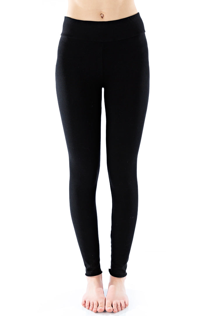 Organic Basic legging - Black