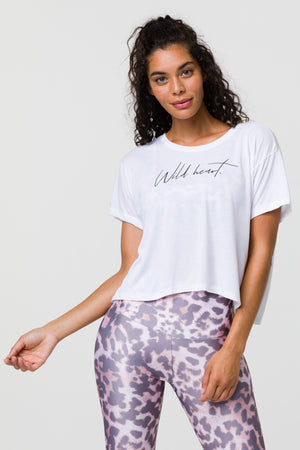 Onzie wild heart  yoga top
