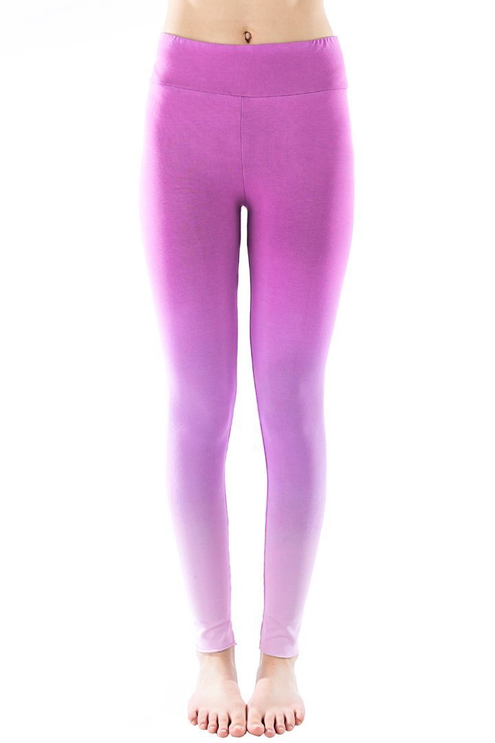Organic Ombre Legging - Orchid
