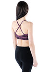 Organic Sports Bra - purple mineral