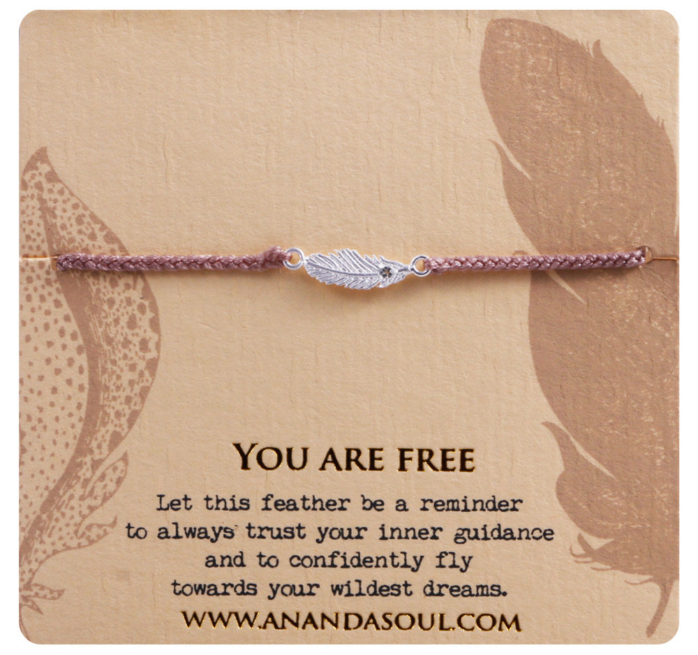 You are Free Bracelet - Silver