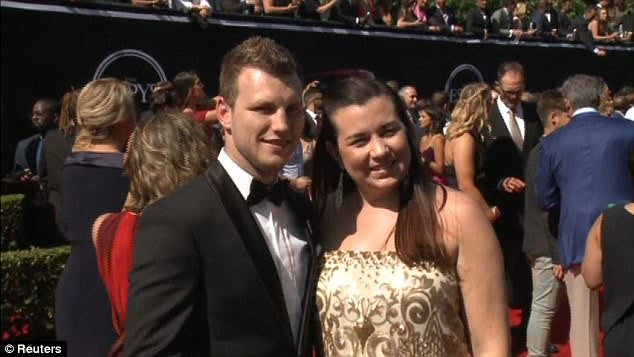 Jo Horn sparkles at the ESPYS