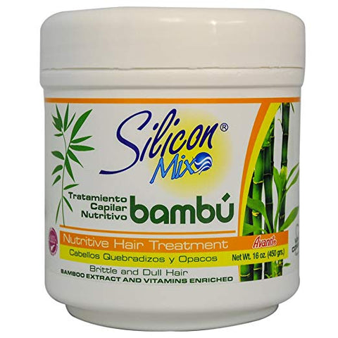 Silicon Mix Tratamiento Capilar Intensivo Bambu 16oz - Avanti
