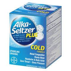 Alka-Seltzer Plus Cold 40's