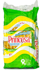 Galletas Princesa Club Crackers Mantequilla | 9 Paquetes de 34g |