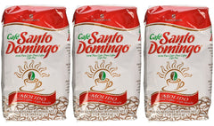 Cafe Santo Domingo Ground Coffee 16 oz bag (3 pack)
