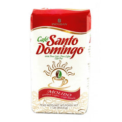 Cafe Molido Santo Domingo Ground Coffee bolsa de 1 libra