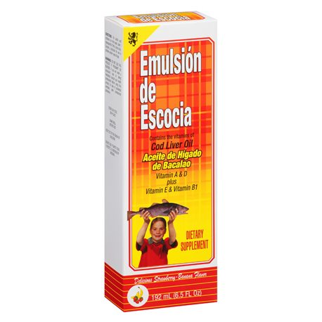 Emulsion De Escocia Straw/Banan - 6.5 fl. oz.
