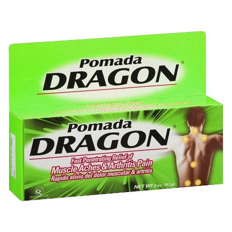 Pomada Dragon Pain Relief Cream - 2oz