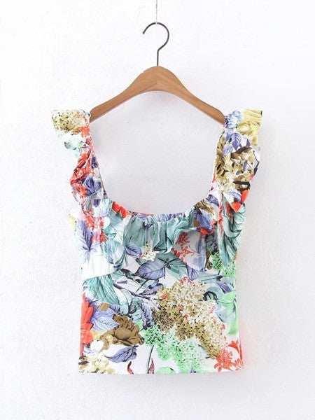 Erin Tropical Top