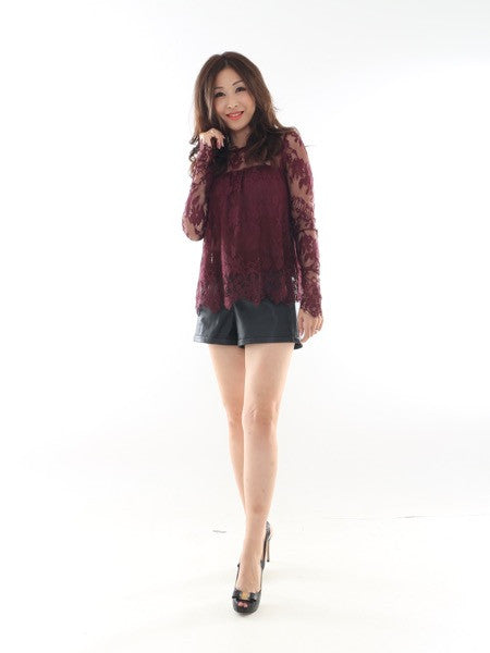 Bernette Lace Top